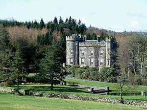 Cloncaird Castle - Cloncaird Castle from the east