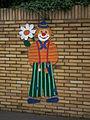 Clown Zufahrt Kindergarten Bürgel.JPG