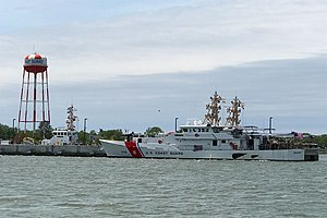 United States Coast Guard Training Center Cape May - Image: Coast Guard Cutter Rollin A. Fritch, Cape May, NJ