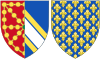 Coat of Arms of Isabella of France, Queen Consort of Navarre.svg