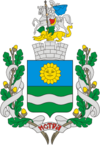Coat of Arms of Istra (Moscow oblast) (N2).png