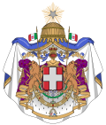 Coat of arms of the Kingdom of Italy (1870).svg