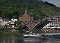 Cochem, die Neue Katholische Kirche Sankt Remaklus Dm en die Skagerrakbrücke foto5 2017-05-31 21.14.jpg