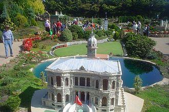 Miniature park - Cockington Green Gardens, miniature village in Canberra, Australia