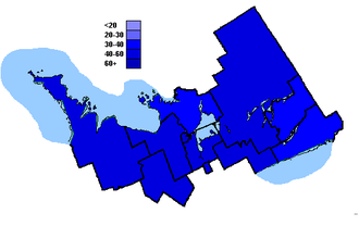 Canadian federal election results in Central Ontario - Conservative Party of Canada