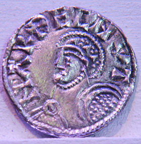 Coin danish and english king Harthacnut, Hardeknut (1018-1042).jpg