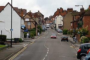Coleshill, Warwickshire - Image: Coleshill High Street