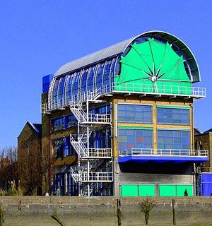 Thames Wharf Studios - Thames Wharf Studios in April 2009