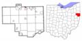 Columbiana County Ohio Highlight Washingtonville.png
