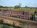 Comboios em cruzamento no pátio da Estação Ferroviária de Salto - Variante Boa Vista-Guaianã km 210 - panoramio (14).jpg