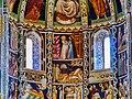 Como Basilica di Sant'Abbondio Interno Coro Affreschi 5.jpg