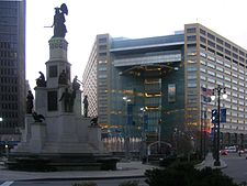 Soldiers' and Sailors' Monument in Campus Martius
