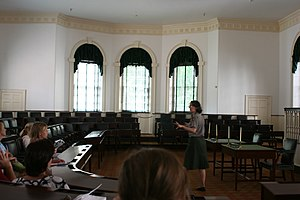 Congress Hall - House chamber on the first floor of Congress Hall