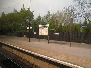 Conisbrough railway station Railway station in South Yorkshire, England