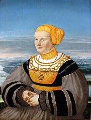 Portrait of Anna von Holzhausen, née Ratzeburg