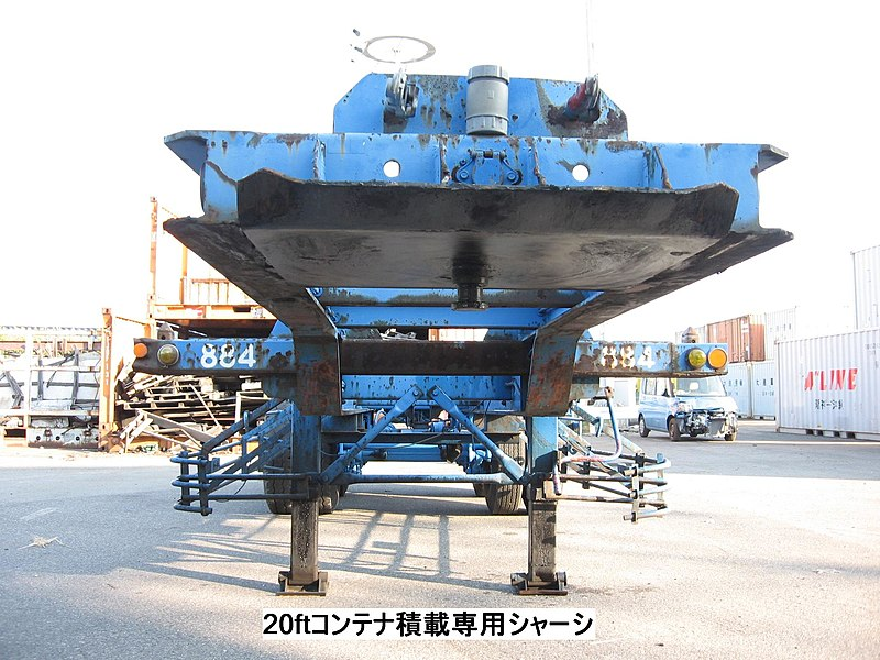 File:Container chassis--6013【 Pictures taken in Japan 】.jpg