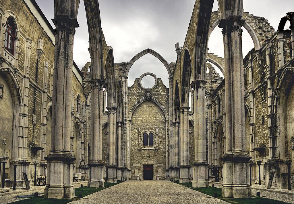 Photo de Lisbonne : Couvent du Carmel à Lisbonne - Photo de BK59