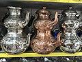 Copper teapots, Malatya 01.jpg