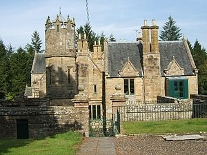 George Cranstoun, Lord Corehouse - Corehouse, the Lanarkshire house from which George Cranstoun took his legal title.