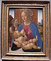 Cosimo rosselli, madonna col bambino e san giovannino, 1490 ca..JPG