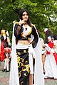 Cosplayer of Boa Hancock, One Piece at FF22 20130728a.jpg