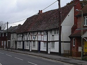 Crowmarsh Gifford - Cottages in Crowmarsh Gifford, home of Jethro Tull, 1700-1710