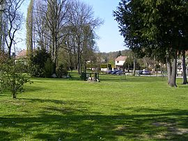 The town hall gardens, Coubron