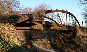 National Register of Historic Places listings in Cloud County, Kansas - Image: County Line Bowstring from SW 3