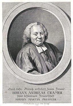 Johann Andreas Cramer
