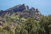 """Crimean mountain range """"Karaul-Oba"""".JPG"""