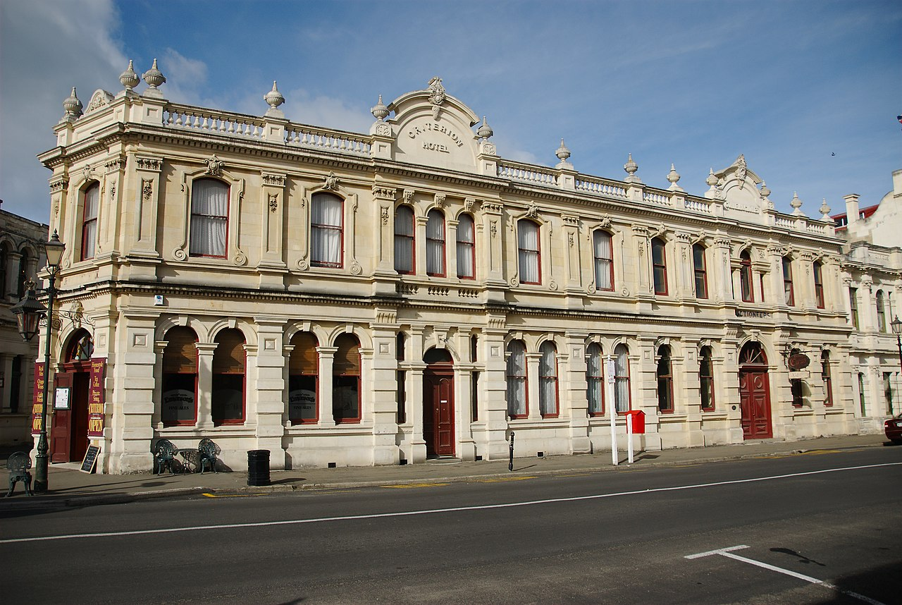 Oamaru New Zealand  city pictures gallery : Criterion Hotel, Oamaru, New Zealand Wikipedia, the free ...