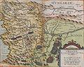 Croatiae, et circumiacentium Regionum versus Turcam nova delineatio.jpg