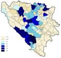 Croats percentage 1991.png