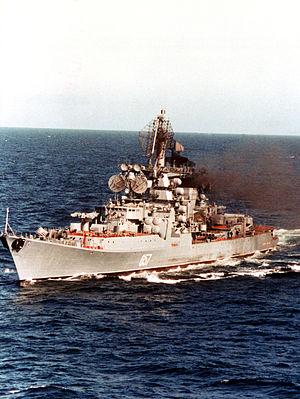 Kresta II-class cruiser