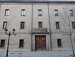 Antiguo cuartel de pontoneros Sangenis de Zaragoza donde sirvió José Poch Segura. Amparo Poch y Gascón nació en Zaragoza el 15 de octubre de 1902.