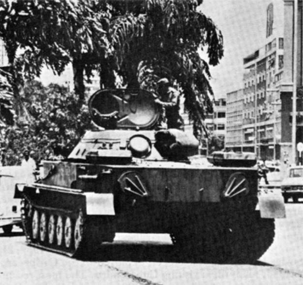 Cuban PT-76 Angola