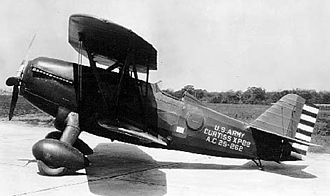 Curtiss XP-22 Hawk - Image: Curtiss XP 22 060906 F 1234P 009