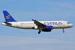 Airbus A320-200 der Cyprus Airways