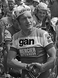 Сирил Гимар, Тур де Франс, 1973.jpg
