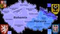 Czech Rep. - Bohemia, Moravia and Silesia III (en).png