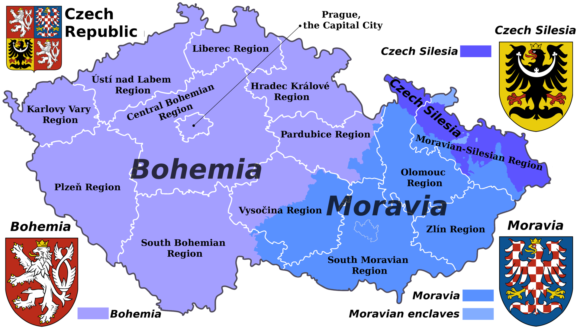 bohemia, moravia, silesia