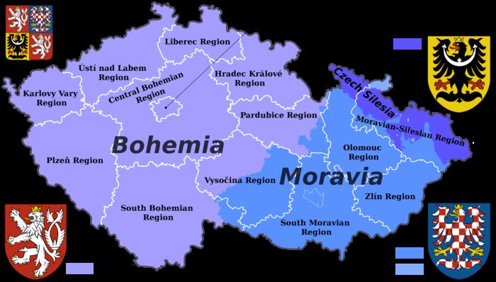 Republika Češka prostire se na oko 78 tisuća četvornih kilometara u srednjoj Europi.