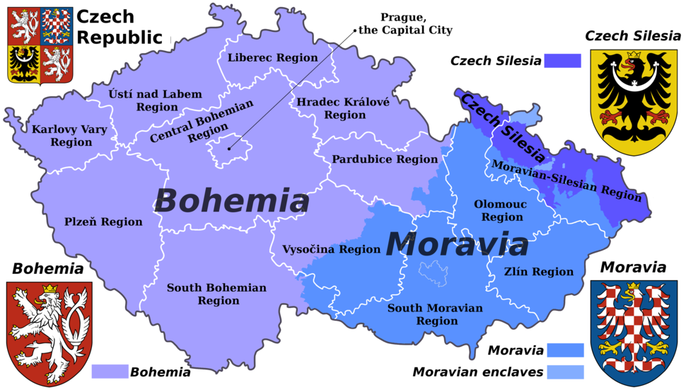 Czech Rep. - Bohemia, Moravia and Silesia III (en)
