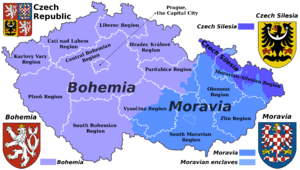 Czech Rep. - Bohemia, Moravia and Silesia III (en)