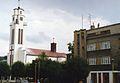 Czechowice Dziedzice rynek lipiec 1993.jpg