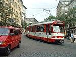 Düsseldorf GT8S tram 3038