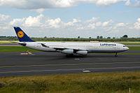 D-AIGO - A343 - Lufthansa
