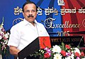 D.V. Sadananda Gowda addressing at the inauguration of the Export Excellency Award-2015, organised by the Federation of Karnataka Chambers of Commerce & Industry, in Bangalore on June 13, 2015.jpg
