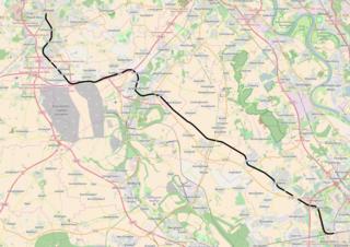 Cologne–Mönchengladbach railway railway line
