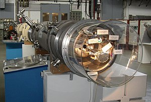 DESY - Segment of a particle accelerator at DESY